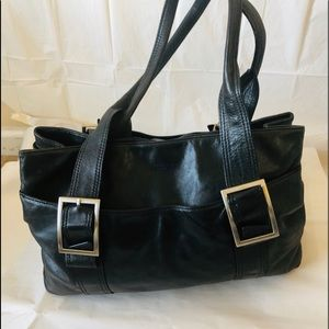 Kenneth Cole New York Leather Handbag